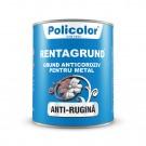 Grund pentru metal Policolor Rentagrund 5011, interior / exterior, rosu oxid, 4 L