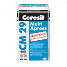 Adeziv pentru piatra naturala si placari ceramice, flexibil, alb, Ceresit CM 29, 25 kg