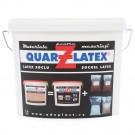 Tencuiala decorativa structurata, Adeplast Quartz Latex, interior / exterior, 7.8 kg