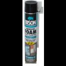 Spuma poliuretanica pentru polistiren, cu aplicare manuala, Bison Adhesive Foam, 750 ml