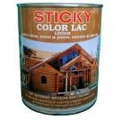 Lac pentru lemn Sticky, tec, interior / exterior, 2.5 L