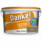 Tencuiala decorativa Danke Textur gri 25 kg