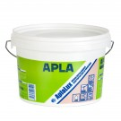Vopsea superlavabila interior AplaLux, antimucegai, baie si bucatarie, alb, 2.5 L