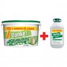 Vopsea lavabila interior, Danke - peretii respira, alba, 15 L + amorsa Danke 4 L