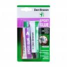 Adeziv bicomponent universal, Den Braven Epoxy Glue, bej, 40 ml