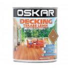 Impregnant pentru lemn, Oskar Decking, nuc, 2.5 L
