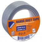Banda Duct Tape Baudeman 8353 25 m / 50 mm, gri