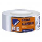Banda adeziva, pentru izolare termica, din aluminiu, Baudeman, 5 cm x 50 m