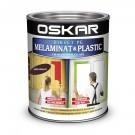 Vopsea Direct pe melaminat si plastic Oskar, interior / exterior, diluabila cu apa, ciocolatie, 0.6 L