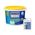 Vopsea lavabila interior Innenweiss, alb, 15 L + Amorsa Innenweiss 4 L
