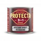Vopsea alchidica pentru metal, Protecta 3 in 1, interior / exterior, verde inchis, 2.5 L