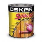 Lazura pentru lemn, Oskar Silikon Lazur, castan, interior / exterior, 2.5 L