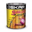 Lazura pentru lemn, Oskar Silikon Lazur, castan, interior / exterior, 5  L