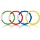Set 4 inele colorate 55501