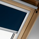 Rulou interior opac fereastra mansarda Velux DKL M06 1100, bleumarin, 118 x 78 cm