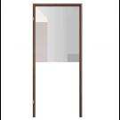Toc Fix Decor 100 mm, nuc, 70 stanga, 81 x 207.5 cm