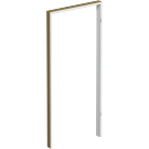 Toc Fix Decor 100 mm, alb, 70 dreapta, 81 x 207.5 cm