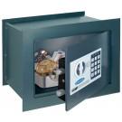 Seif perete Rottner Wallmatic1, electronic cu 2 bolturi, din metal, antracit, 28 x 38 x 19 cm