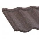 Tigla metalica Lindab Roca rustica teak