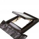 Luminator pentru mansarda Dakota Sky Line, aluminiu, maro, 55 x 72 cm