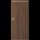Usa culisanta pliabila Alfa, plina, stanga, nuc, 78 x 206 cm + toc