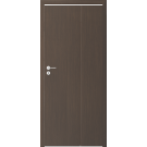 Usa culisanta pliabila Alfa, plina, dreapta, wenge, 98 x 206 cm + toc