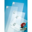 Placa Hobbyglas, transparent, 500 x 250 x 2 mm