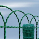 Gard ornamental Arcoplax verde 0.4x10 m