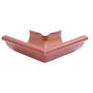 Coltar metalic exterior tip 1 Novatik, rosu RR29, 125 mm