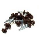 Surub pentru tigla metalica, autoforant, Lindab RL, maro, 4,8 x 35 mm, 250 bucati