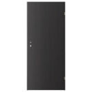 Usa interior celulara, Porta Doors Verte Trend, dreapta, wenge inchis, 203 x 84.4 x 4 cm cu toc rotunjit
