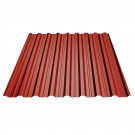 Tabla cutata TG18 rosu bordo (RAL 3011) 1500x1150x0.4 mm