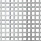 Tabla aluminiu cu perforatii patrate 10-15 1x1000x1000 mm