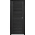 Usa de interior din lemn, BestImp G2-68-W, stanga / dreapta, wenge, 203 x 68 cm