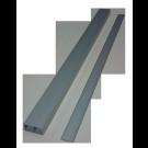 Sina glisare usa, aluminiu, 2 canale trecere, 1.6 m