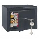 Seif pentru mobila hotel Rottner Homestar T06082, cheie, antracit, 15 x 20 x 17 cm
