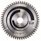 Disc circular, pentru aluminiu / lemn / plastic, Bosch Multi Material, 2608640509, 190 x 30 mm
