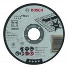 Disc continuu pentru debitare inox Bosch Expert for Inox Rapido, dimensiuni 115 x 22.23 x 1 mm