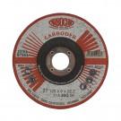 Disc polizare otel, Carbochim  11ABACH27E, 125 x 22.2 x 6 mm