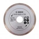 Disc diamantat, continuu, pentru debitare placi ceramice / granit, Bosch Ceramic, 110 x 22.23 x 1.7 mm, 2607019471