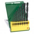 Set 10 burghie HSS-R, pentru metal, Bosch 2607019442, 1 - 10 mm