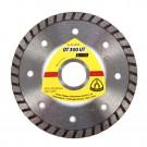 Disc diamantat, continuu, pentru debitare materiale de constructii, Klingspor DT 300 UT Extra, 115 x 22.23 x 1.90 mm