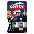 Adeziv gel universal, Loctite Super Attack - Power Flex, transparent, 3 g