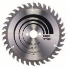 Disc circular, pentru lemn, Bosch Optiline Wood, 2608640597,  160 x 20/16 x 2,6 mm