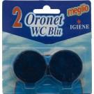 Odorizant toaleta Oronet WC blu 2x40g 3 parf