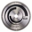 Disc circular, pentru aluminiu / lemn / plastic, Bosch 2608640450, 254 x 30 x 2.5 mm