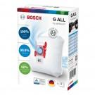 Saci aspirator Bosch BBZ41FGALL, hartie, pachet 4 bucati