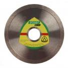 Disc diamantat, continuu, pentru debitare placi ceramice, Klingspor DT 300 F Extra, 115 x 22.23 x 1.60 mm