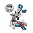 Fierastrau circular, stationar, cu sanie de glisare, pentru lemn / aluminiu, Bosch Professional GCM800SJ, 1400 W, 0601B19000