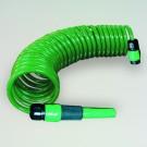 Lance de stropit Mega 550059, PVC, debit reglabil, 2 jeturi de  stropire + furtun spiralat + cuple furtun